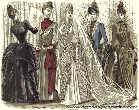 Victorian Wedding Gowns