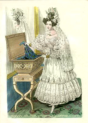 1832 wedding dress