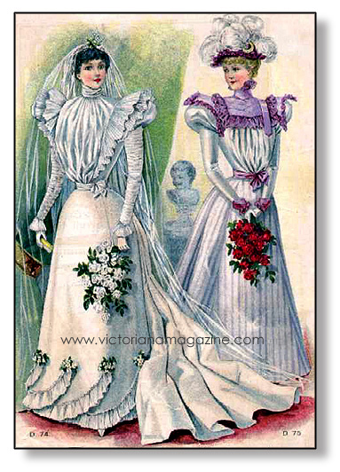 1897 Wedding Dress