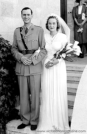 1940s Wedding Dress